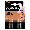 Duracell AAA MN2400 pile 4 pièces