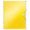 Leitz 4634 WOW trieur (12 onglets) - jaune 46340016 226158