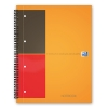Oxford International bloc spirale A4 ligné 80 grammes 80 feuilles orange