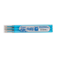 Pilot Frixion Point recharge pour stylo roller turquoise (3 pièces) 402036 405041